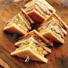 Party聚會人氣點心:俱樂部三明治