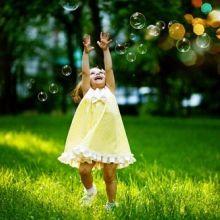 孩子也能玩得很開心&安心!一起來吹親手做的「肥皂泡泡」吧♡
