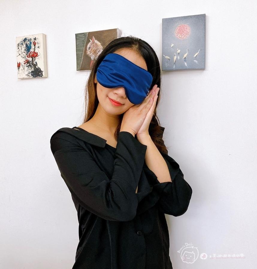 完美補眠|隨時都能睡美容覺-愛馬仕等級的100%頂級桑蠶絲真絲眼罩+枕套_img_31