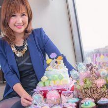 【最美媽媽力】「要做有溫度的蛋糕」Valerie的甜點品牌從女兒的夢幻美人魚開始
