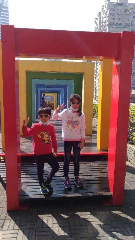 #親子旅遊 好天氣 好心情 一起踏青去 台中科博館