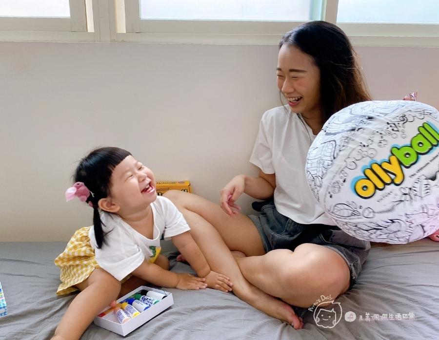疫情期間孩子如何玩|親子放電遊戲,在家玩球超fun心!室內安心玩的玩具-美國歐力球_img_16