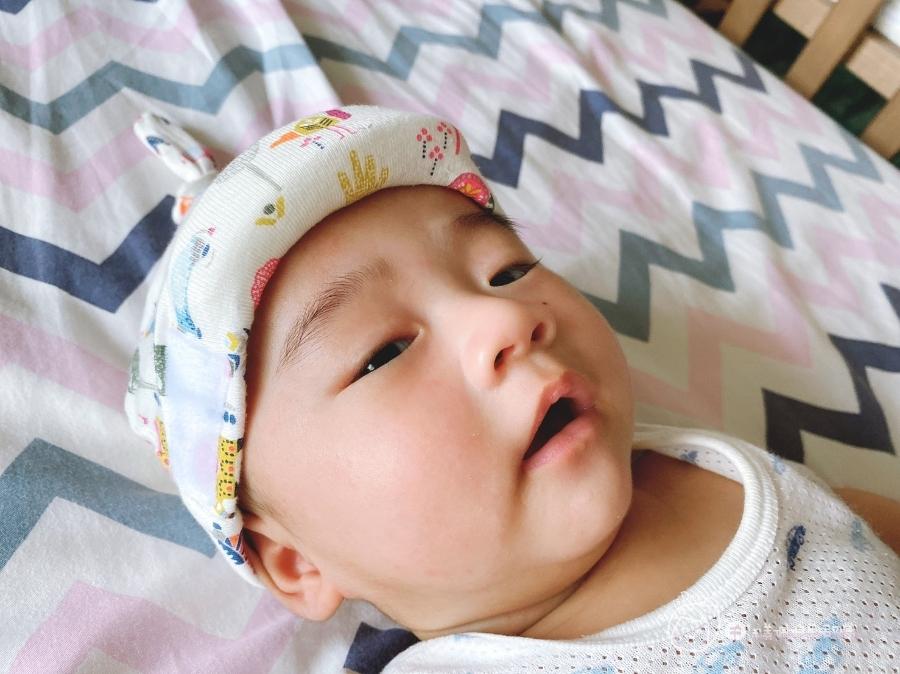 防疫生活|家有新生兒必備!寶寶專屬防疫帽😷_img_15