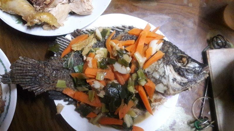 過年一定要有年菜魚,代表年年有餘!! #年菜