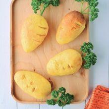 當胡蘿蔔躲進麵包裡 超萌到讓人捨不得吃