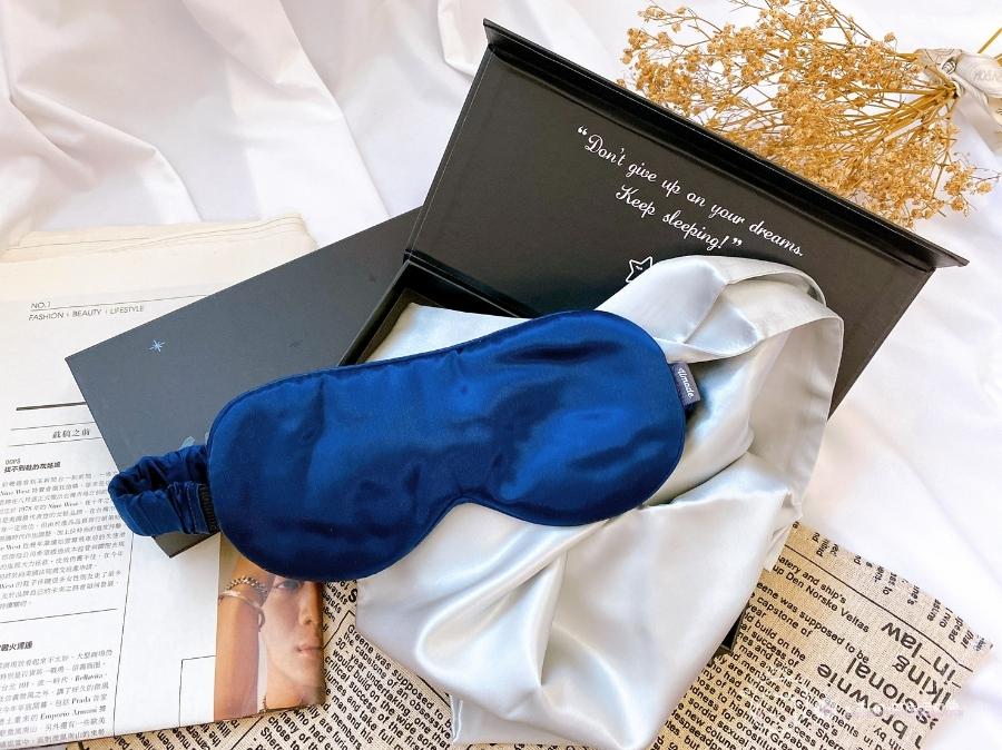 完美補眠|隨時都能睡美容覺-愛馬仕等級的100%頂級桑蠶絲真絲眼罩+枕套_img_1