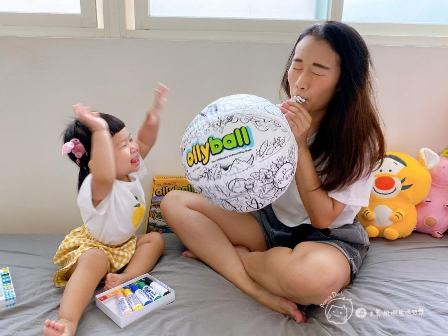 疫情期間孩子如何玩|親子放電遊戲,在家玩球超fun心!室內安心玩的玩具-美國歐力球_img_15