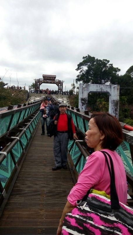 過年就是要到 桃園301吊橋 角板山 走走晃晃 #親子旅遊