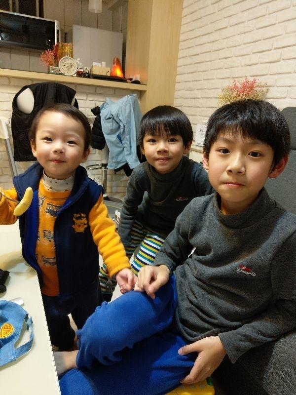我的三個寶寶貝😘