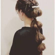 2017年潮流編髮報妳知♪只需髮圈就能完成日系甜美「洋蔥髮型」