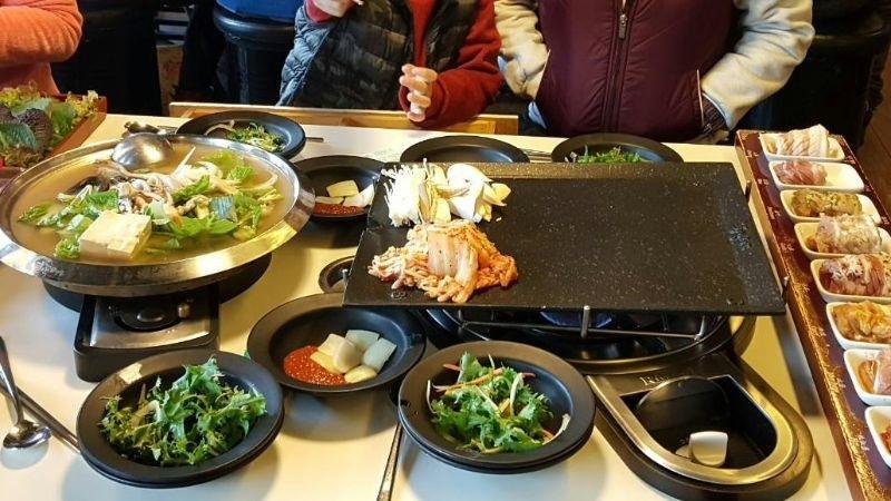 另類的韓式年菜,外出用餐方便又不累,呵呵 #年菜