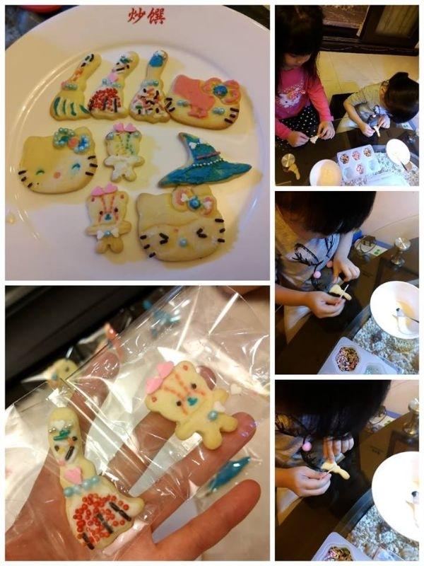 烤個餅乾 再讓孩子們親手裝飾點綴 又是一份愛的小禮物 發送給他們自己喜歡的人 *^^* #媽媽play搞怪創意無限
