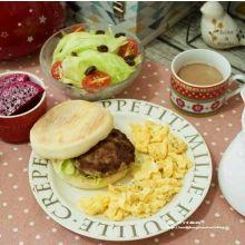 ♥ 艾薇廚房 ♥ 簡單做出早午餐食材 ▌自製手工漢堡排+保存方法 ▌(步驟圖文版)