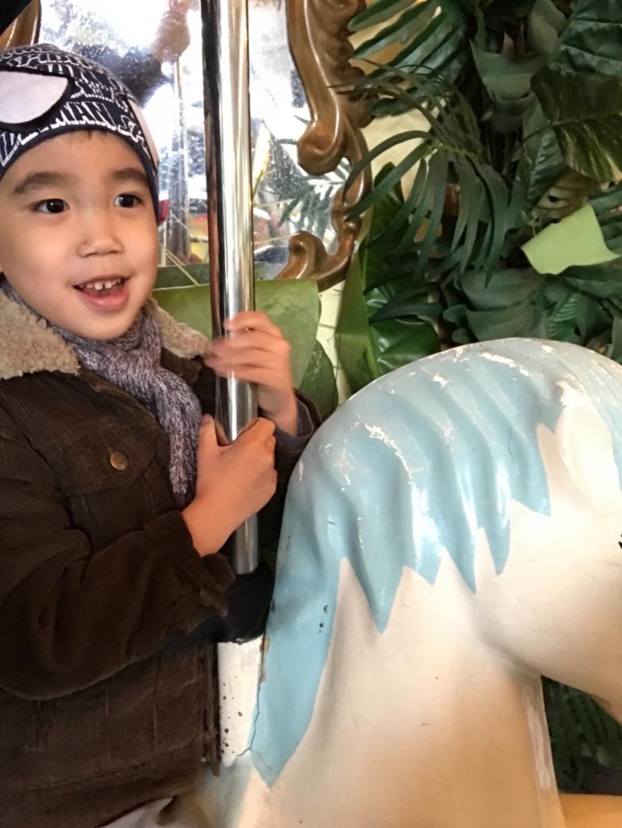 天氣冷颼颼,還是來花博公園逛逛 😖 #親子旅遊