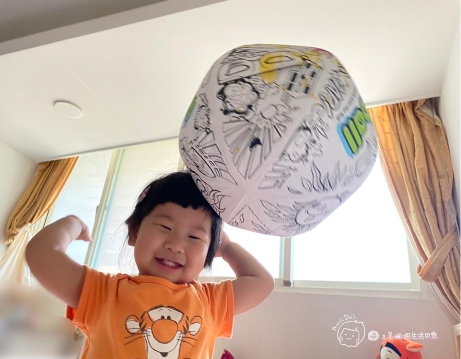 疫情期間孩子如何玩|親子放電遊戲,在家玩球超fun心!室內安心玩的玩具-美國歐力球_img_31