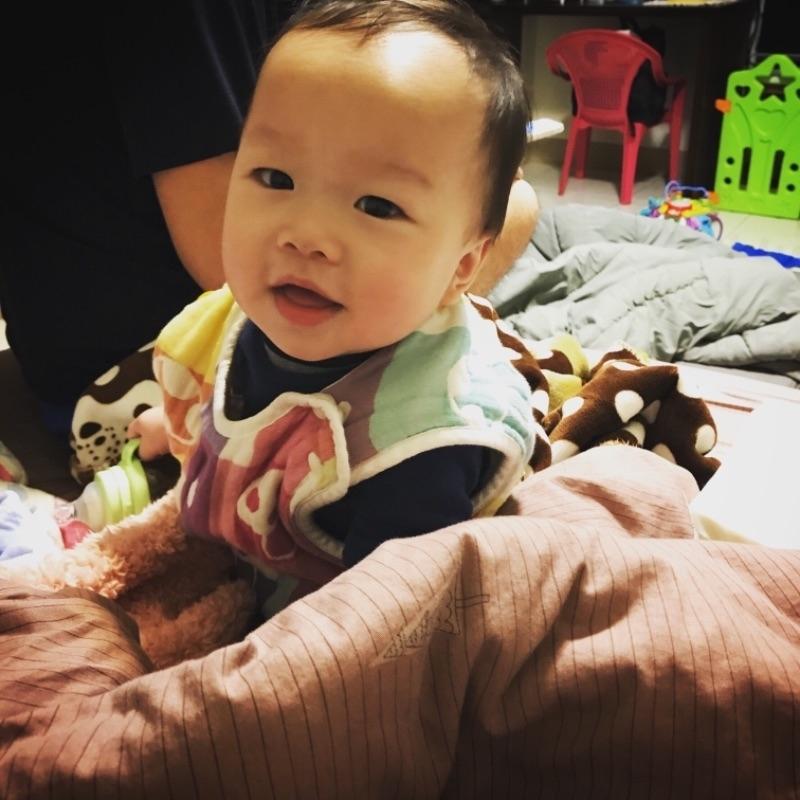 #爸爸去哪兒 綸綸寶貝👶🏻不管在怎麼辛苦,看到你的成長及笑容一切值得!