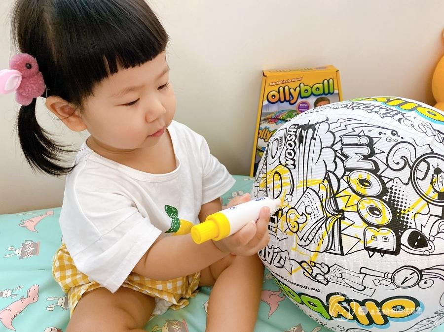 疫情期間孩子如何玩|親子放電遊戲,在家玩球超fun心!室內安心玩的玩具-美國歐力球_img_21