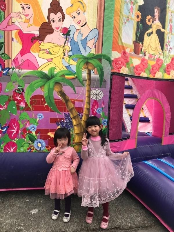 初一到遊樂園走春, 今天是公主風~ #萌娃