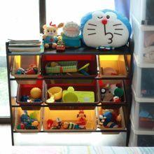 【育兒好物】DELSUN 九格玩具收納架 大地茶色,環保無毒不受蟲蛀且不易變形,台灣製造,安心又好用