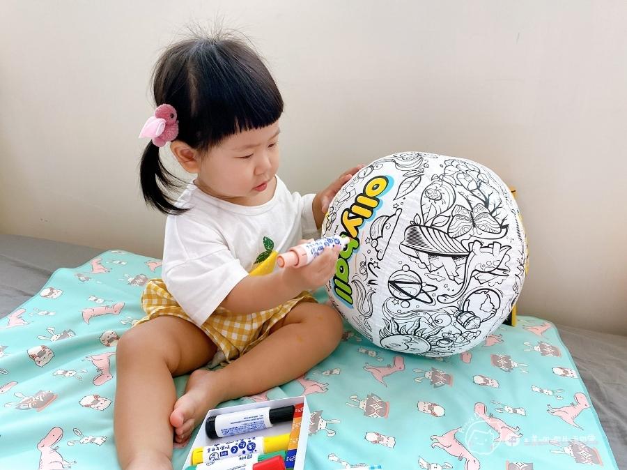 疫情期間孩子如何玩|親子放電遊戲,在家玩球超fun心!室內安心玩的玩具-美國歐力球_img_20