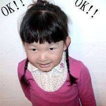簡單俏麗的小女生髮型