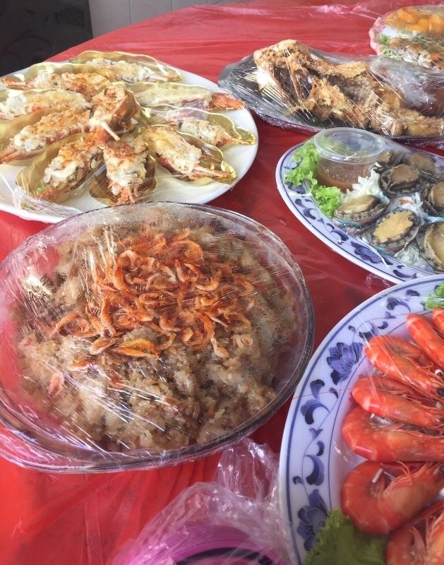 謝謝家人準備的晚餐,我超愛~ #年菜