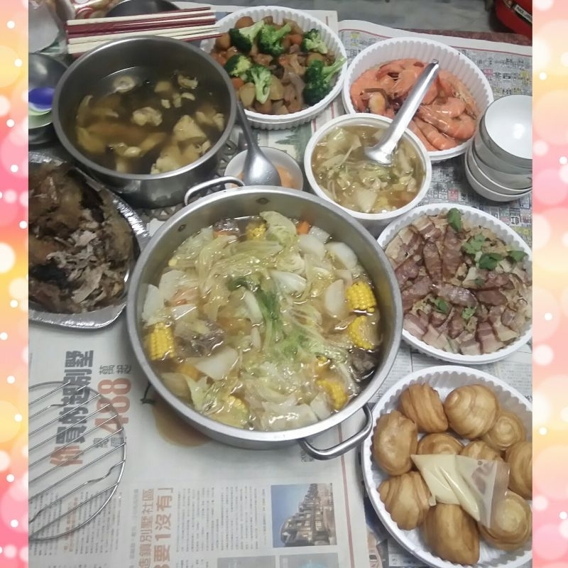 #年菜 家家戶戶慶團圓 新年快樂!