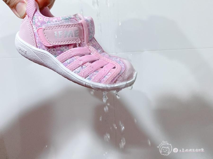 寶寶的第一雙日本IFME機能童鞋 夏天就該有一雙透氣水涼鞋_img_16