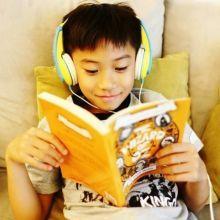 【英文繪本共讀的方式】聽CD共讀、唸英文故事給孩子聽