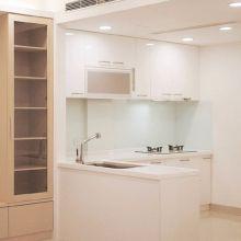 廚房更新大作戰:用白色打造明亮感&開放感