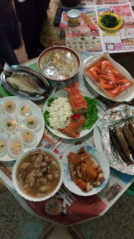 娘家媽媽+婆婆手藝,這年夜飯吃的好滿足 #年菜