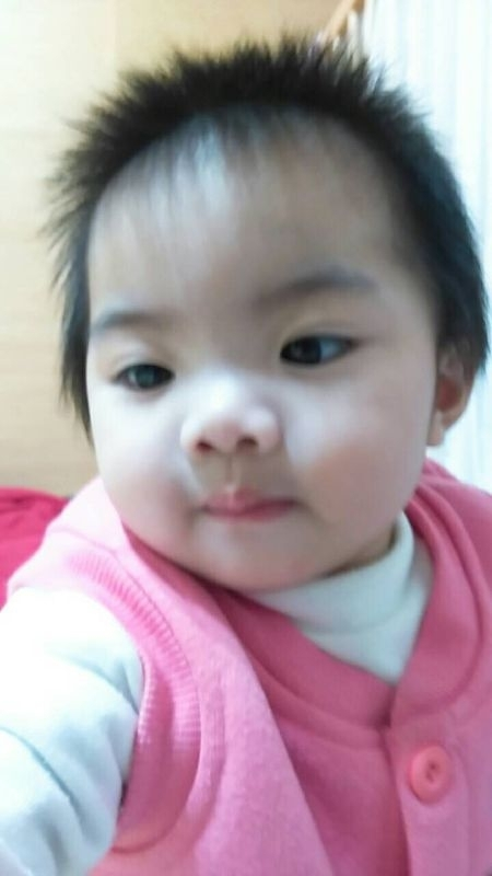 大年初一 讓寶貝過個粉紅色夢幻的一年 #萌娃
