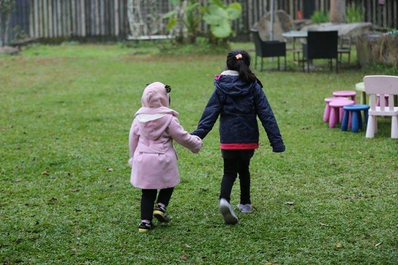 大年初四天氣好,來到南投日月潭,南投好山好水真漂亮,孩子們也開心的跑來跑去~! #親子旅遊