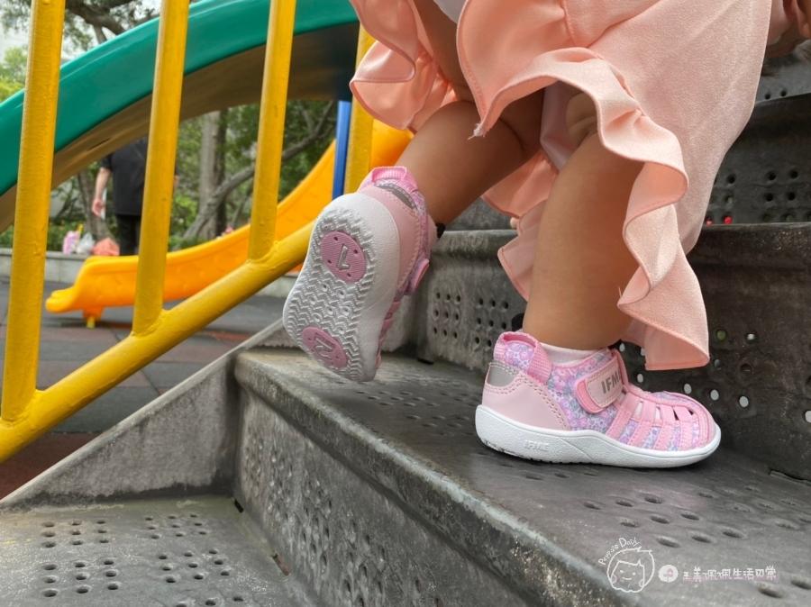 寶寶的第一雙日本IFME機能童鞋 夏天就該有一雙透氣水涼鞋_img_41