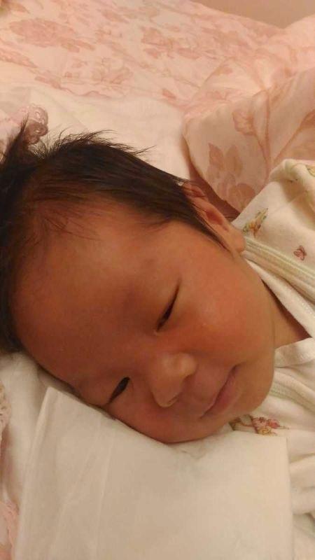 出生時太快速 從開一指到生只有4小時 但是還是好痛啊 #新生兒報到
