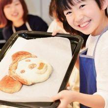 讓孩子體驗烘培樂趣   可愛動物麵包米老鼠、小雞都能做!