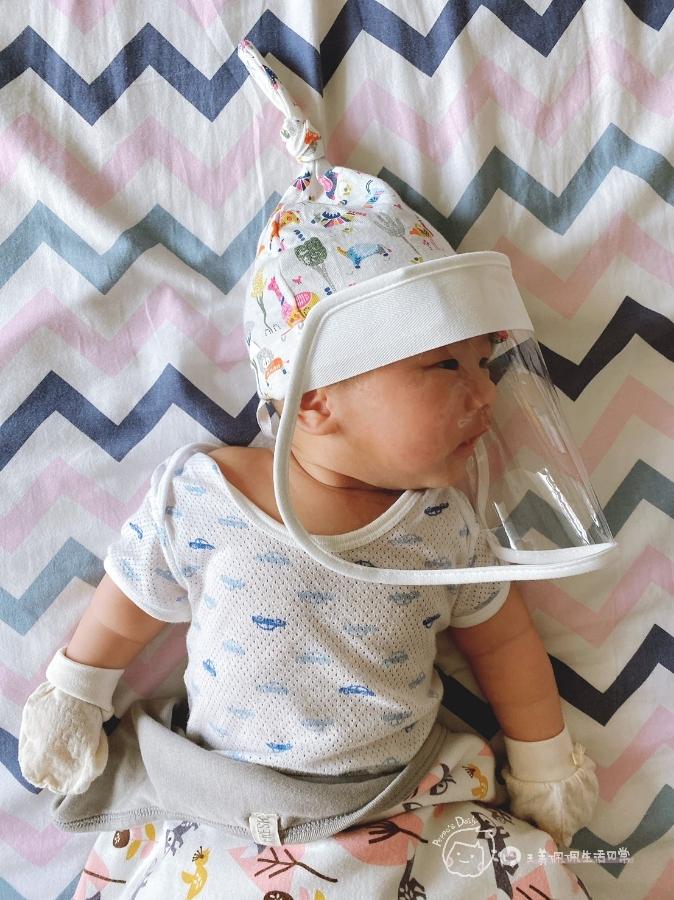 防疫生活|家有新生兒必備!寶寶專屬防疫帽😷_img_20