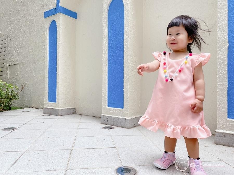 寶寶的第一雙日本IFME機能童鞋 夏天就該有一雙透氣水涼鞋_img_49