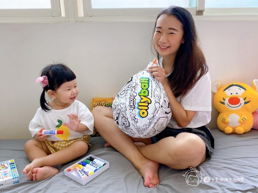 疫情期間孩子如何玩|親子放電遊戲,在家玩球超fun心!室內安心玩的玩具-美國歐力球_img_17