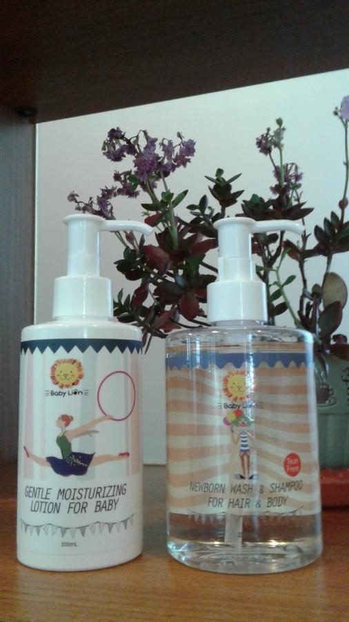 【體驗】獅子寶寶金盞花舒緩保濕系列,讓寶貝愛上洗澡