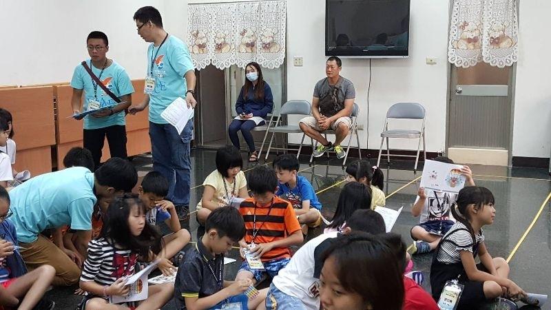 #暑假生活 參加暑期夏令營品格園活動