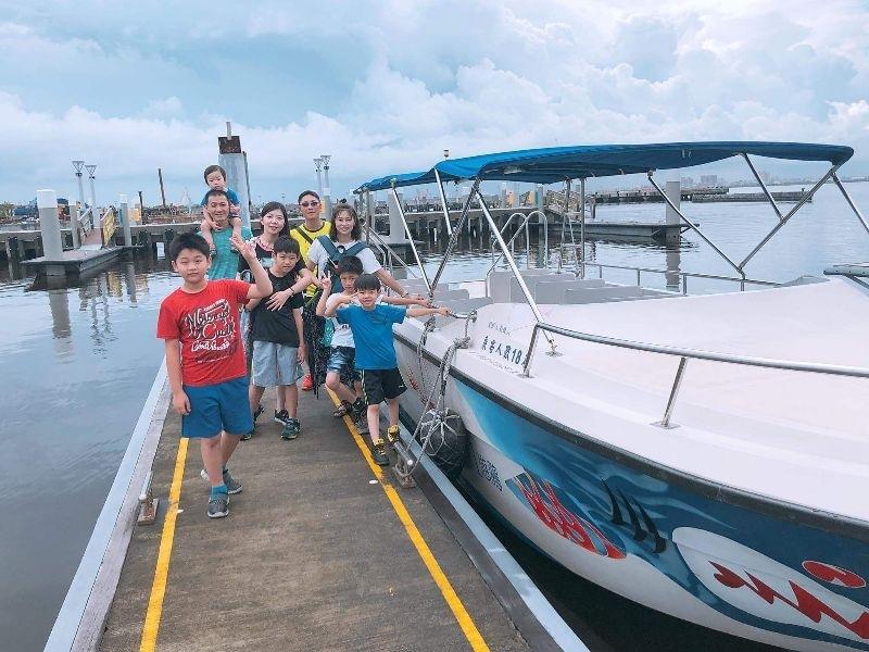 慶祝兩位大班生的畢業旅行😊 #怡灣渡假飯店 #大鵬灣遊湖