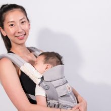 【最美媽媽力】背著孩子也能運動?Lynn:小孩就是不斷成長的健身器材