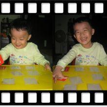 經濟又實惠的自製遊戲卡~跟寶貝一起來製作記憶力翻翻卡~