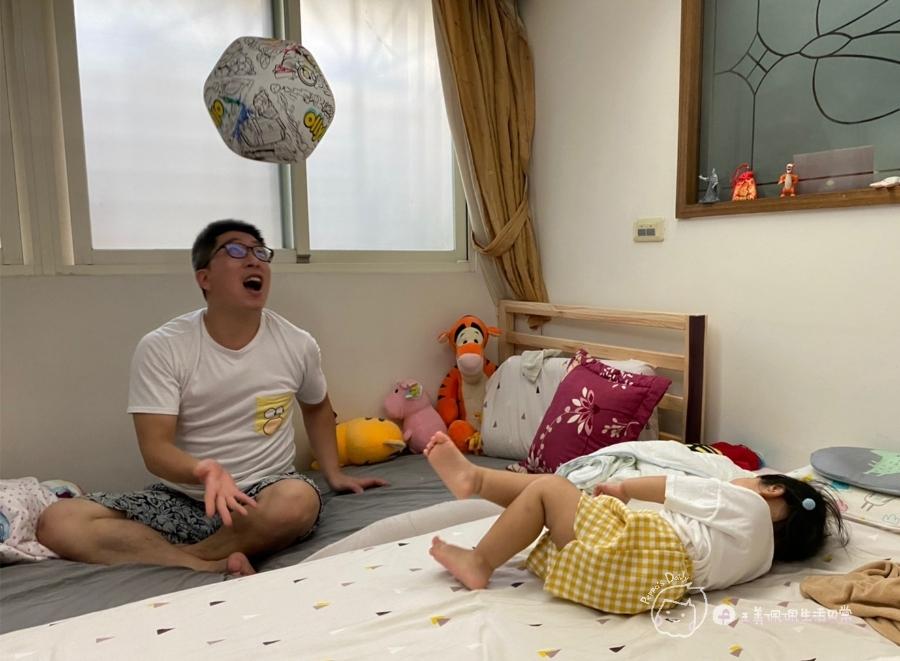 疫情期間孩子如何玩|親子放電遊戲,在家玩球超fun心!室內安心玩的玩具-美國歐力球_img_32