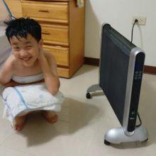 冬天長輩小孩必備的家電-羅蜜歐雙面速暖電膜式電暖器 HT-1500開箱文