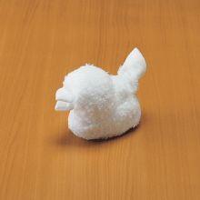 濕巾摺法~小雞
