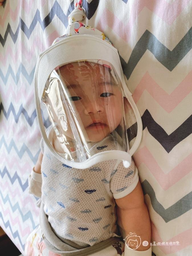防疫生活|家有新生兒必備!寶寶專屬防疫帽😷_img_22