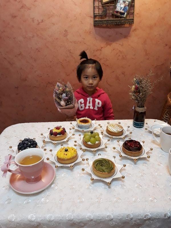 低糖,健康水果……小孩的甜點。(新竹 小麻雀手作甜點)
