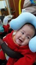 小Q妹,你開心的笑容是爸比媽咪化解辛勞的泉源! #爸爸去哪兒